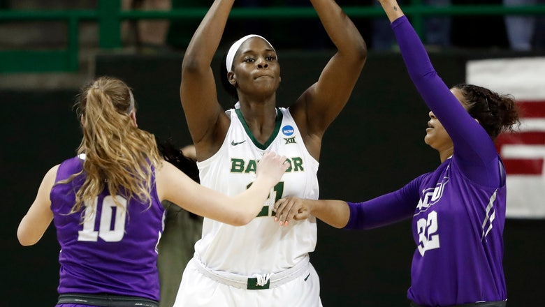 Centers of attention for Baylor-Cal women in 3rd NCAA game
