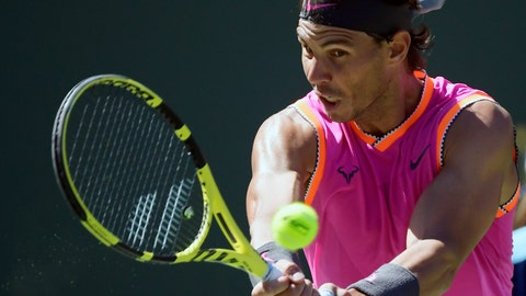 Rafael Nadal Enters Indian Wells Quarter Finals After Defeating Filip Krajinovic
