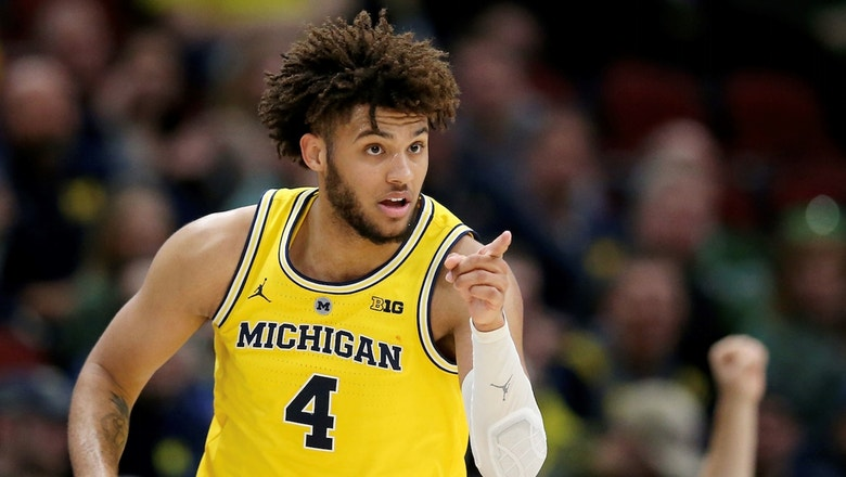 Isaiah Livers records career day as No. 10 Michigan advances to Big Ten finals