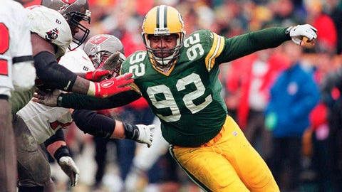 <p>               FILE - In this Jan. 4, 1998, file photo, Green Bay Packers Reggie White moves in on the Tampa Bay defense in the NFC Divisional Playoff game in Green Bay, Wis. The NFL wouldn't be the gigantic force it is in society and sports today without free agency empowering most players with freedom and fortune and endowing most long-suffering franchises and their fans with hope. The first offseason featuring modern free agency was in 1993, and it produced the most significant free agent signing in NFL history: Reggie White (AP Photo/Charles Krupa, File)             </p>