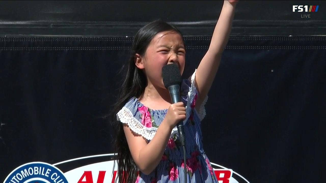 7-year-old Malea Emma's national anthem rendition will give you chills