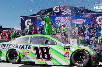 Winner's Weekend: Kyle Busch and Adam Stevens at Auto Club Speedway