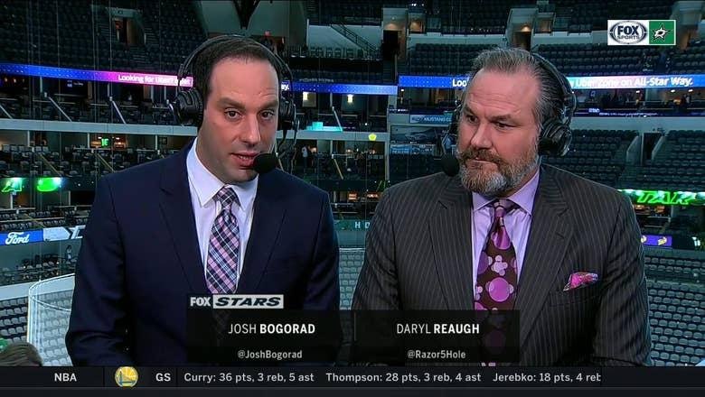 Bogorad, Razor talk Stars huge win over Panthers | Stars Live