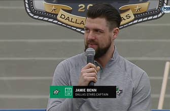 Jamie Benn on Winter Classic: 'It should be a pretty intense game'