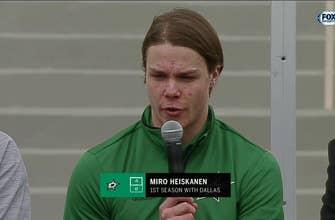 Miro Heiskanen on Winter Classic: 'It's going to be so much fun'