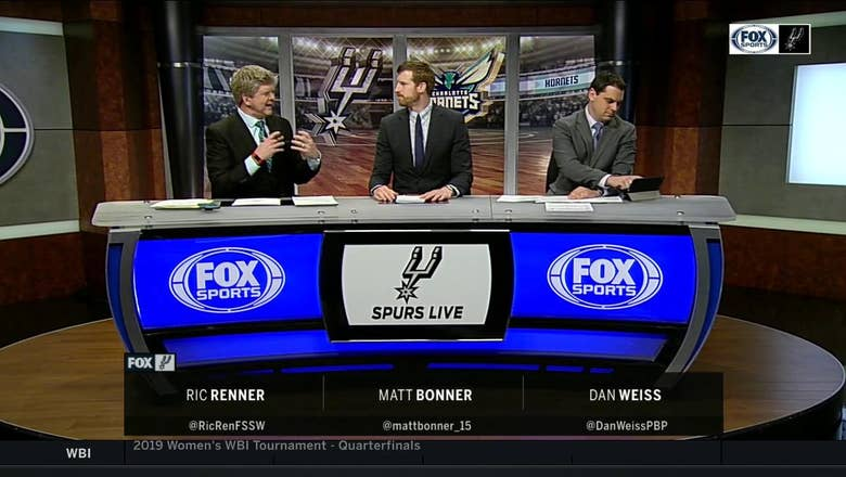 Spurs reach OT, lose to Hornets 125-116 | Spurs Live