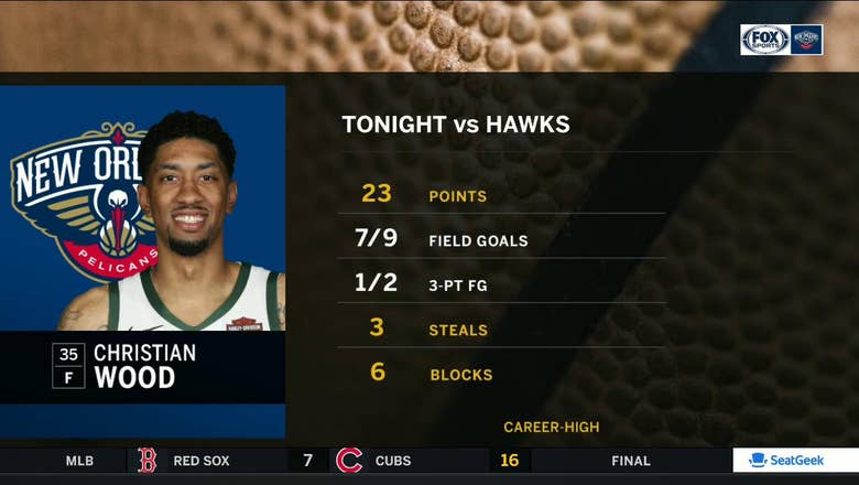 Christian Wood a positive in Pelicans loss to Hawks | Pelicans Live