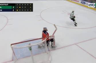 WATCH: Jamie Benn gets the Game-Winner in a Shootout