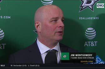 Jim Montgomery on win in Edmonton: 'We got better every period