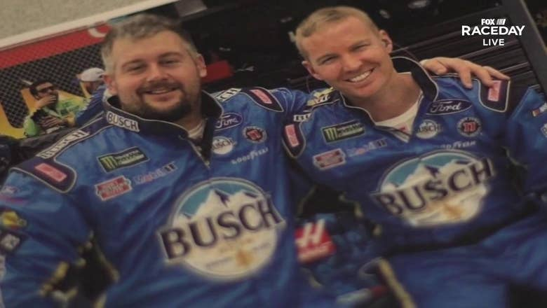 Stewart-Haas Racing tire changer Daniel Smith talks about fighting cancer with his NASCAR brothers