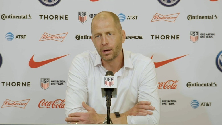 "Gregg Berhalter on USMNT: ""Opponents have a great deal of respect for us as a team"""