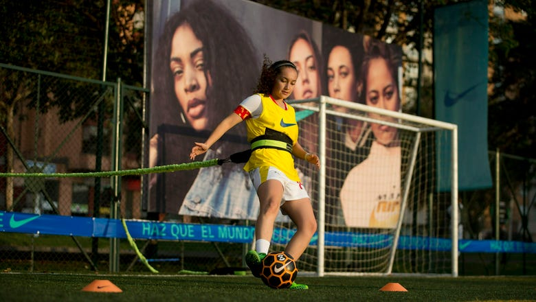 Colombia's female soccer players fight for level field