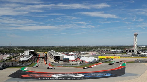<p>               FILE - In this Oct. 21, 2018, file photo, drivers round a turn the opening lap out of turn one during the Formula One U.S. Grand Prix auto race at the Circuit of the Americas in Austin, Texas. After years of hosting the top European racing series, the Circuit of the Americas is finally racing IndyCar. The US-based series runs the first IndyCar Classic in Austin, Texas this week with a special bonus of $100,000 if the driver who qualifies in pole position also wins the race. (AP Photo/Eric Gay, File)             </p>