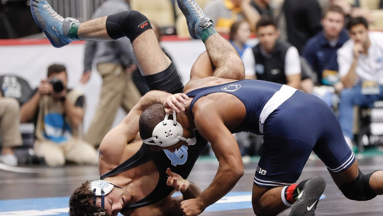 Penn State increases its lead in NCAA wrestling tournament