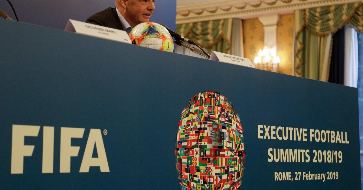APNewsBreak: FIFA's robust cash reserves soar to $2.7B