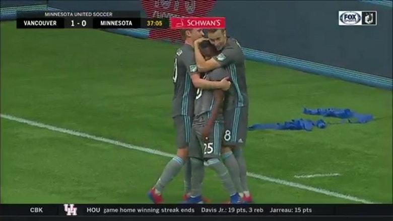 WATCH: Loons scores trio of goals in season opener