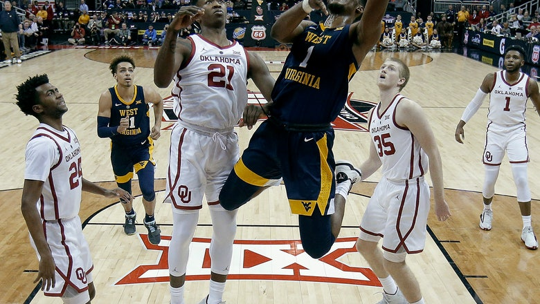 West Virginia beats Oklahoma 72-71 in Big 12 tourney