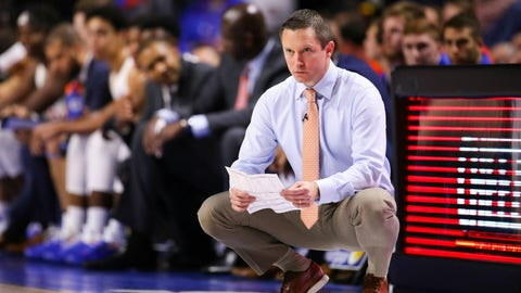 <p>               FILE - In this Feb. 2, 2019, file photo, Florida coach Mike White watches during the second half of an NCAA college basketball game against Kentucky in Gainesville, Fla. Florida is limping into the postseason, having lost three straight, and probably needs at least one win in the SEC Tournament to get to the NCAAs for a third straight year. (AP Photo/Matt Stamey, File)             </p>