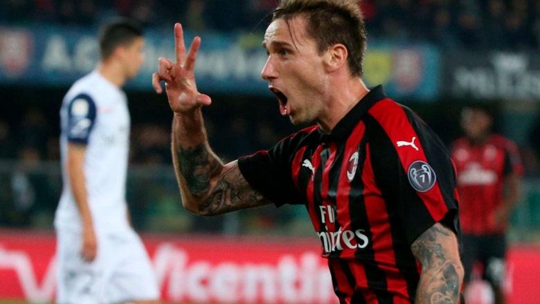 Piatek scores again as Milan wins 2-1 at Chievo in Serie A