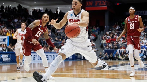 <p>               Belmont's Kevin McClain drives to the net during the first half of a First Four game of the NCAA college basketball tournament against Temple, Tuesday, March 19, 2019, in Dayton, Ohio. (AP Photo/John Minchillo)             </p>
