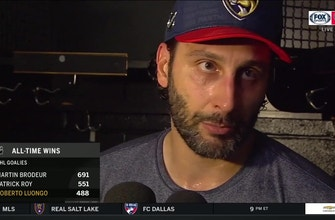 Roberto Luongo breaks down win  in Boston after stopping 30 of 31 shots