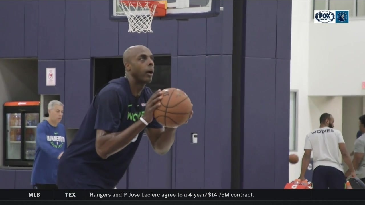 An inside look at Anthony Tolliver's shooting routine