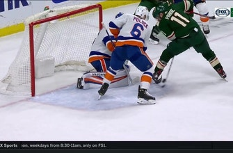 WATCH: Wild's Parise scores insane between-the-legs goal