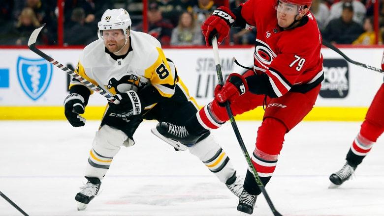 Hamilton, Hurricanes beat Penguins 3-2 in shootout