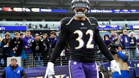 <p>               FILE - In this Dec. 30, 2018, file photo, Baltimore Ravens free safety Eric Weddle walks onto the field before the team's NFL football game against the Cleveland Browns in Baltimore. The Los Angeles Rams have signed veteran safety Weddle to a two-year deal, the team announced Friday, March 8, 2019. Weddle has been chosen for six Pro Bowls during a 12-year NFL career spent with San Diego and Baltimore. The Ravens cut him Tuesday. (AP Photo/Nick Wass, File)             </p>