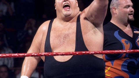 <p>               This image provided by the WWE shows professional wrestler King Kong Bundy. Promoter and longtime friend David Herro says Bundy, whose real name was Christopher Pallies, died on Monday, March 4, 2019. The 6-foot-4 (1.93 meters), 458-pound (208-kilogram) wrestler made his World Wrestling Federation debut in 1981 and was best known for facing Hulk Hogan in 1986 in a steel cage match at WrestleMania 2. (WWE via AP)             </p>