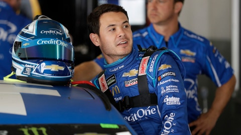 <p>               FILE - In this Feb. 15, 2019, file photo, Kyle Larson gets into his car during Daytona 500 auto race practice at Daytona International Speedway in Daytona Beach, Fla. Larson says he personally apologized to team owner Rick Hendrick this week after jokingly suggesting during an interview that Hendrick Motorsports cheats. While the Chip Ganassi Racing star doesn't plan to stop the opinionated honesty that earned him that catchy new nickname of Blunt and spawned a few accompanying memes, Larson also realizes his delivery can improve. (AP Photo/Chris O'Meara, File)             </p>