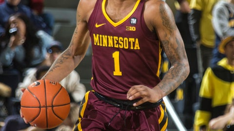 <p>               FILE - In this Jan. 22, 2019, file photo, Minnesota guard Dupree McBrayer (1) dribbles the ball in the first half of an NCAA college basketball game against Michigan, in Ann Arbor, Mich. Jordan Murphy has had to slog through a couple of rough seasons at Minnesota to become the Big Ten's second-leading rebounder of all time. Dupree McBrayer is still hurting from his mother's death a little more than three months ago. The seniors still have a chance to end their career with the Gophers on a brighter note. (AP Photo/Tony Ding, File)             </p>
