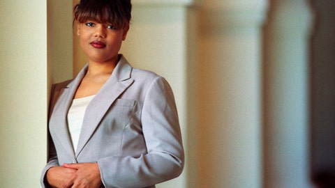 <p>               FILE - In this Feb. 10, 2000, file photo, Freeda Foreman stands in The Regent Las Vegas Hotel and Casino in Las Vegas, following a press conference announcing her professional boxing debut. The 42-year-old daughter of former heavyweight champion George Foreman died at a Houston-area home. The Harris County sheriff's office said deputies were called Friday, March 8, 2019, to the home where EMS had determined Freeda George Foreman was dead. (AP Photo/Laura Rauch, File)             </p>