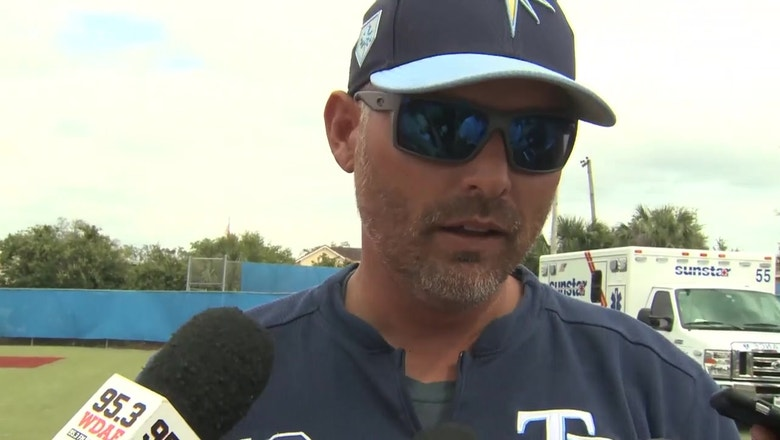 Kevin Cash pleased with Rays progress on defense