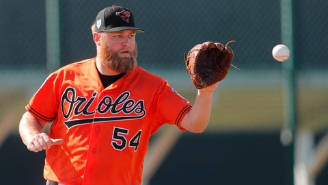 <p>               FILE - In this Feb. 15, 2019, file photo, Baltimore Orioles starting pitcher Andrew Cashner works out at their spring training baseball facility, in Sarasota, Fla. Two days before the season opener, the Orioles are already in next-man-up mode. Alex Cobb is on the injured list, so right-hander Andrew Cashner will start Thursday, March 28 at Yankee Stadium. (AP Photo/Gerald Herbert, File)             </p>