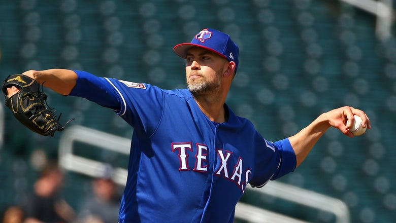 Rangers tab lefty Minor as their opening day starter vs Cubs