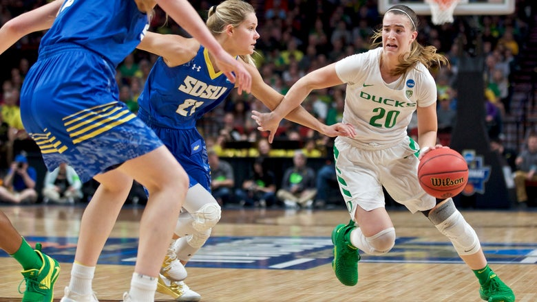 Oregon heads to Elite 8 with 63-53 win over South Dakota St