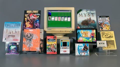 <p>               In this undated photo provided by The Strong Museum, packaging for the 12 finalists for induction into the World Video Game Hall of Fame sit on display in Rochester, N.Y. The World Video Game Hall of Fame fielded thousands of nominations for the Class of 2019 from more than 100 countries, hall officials said Thursday, March 21, 2019, after narrowing the field to 12. An expert committee will choose which of the finalists will be inducted May 2. Gamers can weigh in with an online ballot through March 28. ( Victoria Gray/The Strong Museum via AP)             </p>