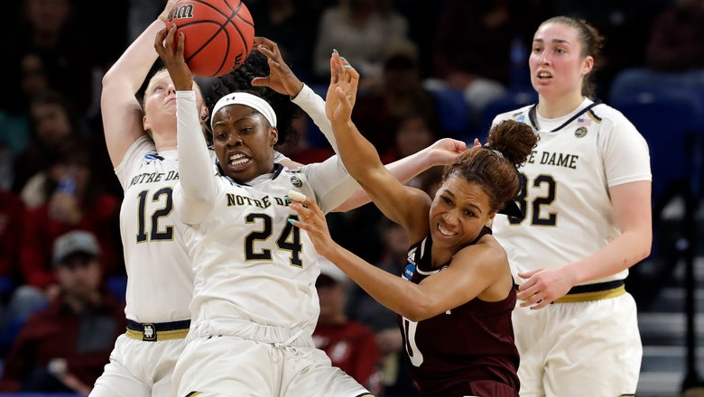 Notre Dame gets past Texas A&M in women's Sweet 16