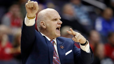 <p>               FILE - In this March 10, 2018, file photo Saint Joseph's head coach Phil Martelli directs his team during the first half of an NCAA college basketball semifinal game against Rhode Island in the Atlantic 10 Conference tournament in Washington. Saint Joseph's fired Martelli on Tuesday, March 19, 2019, after 24 seasons. The 64-year-old Martelli became head coach in 1995 after 10 years as an assistant.  (AP Photo/Alex Brandon, File)             </p>