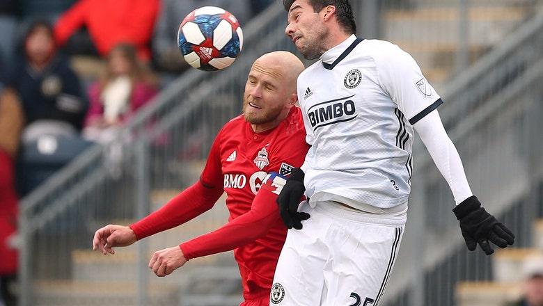 Bradley gets 1st multi-goal MLS game, Toronto wins opener