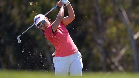 <p>               Nasa Hataoka, of Japan, plays her second shot on the fourth hole during the final round of the Kia Classic LPGA golf tournament Sunday, March 31, 2019, in Carlsbad, Calif. (AP Photo/Orlando Ramirez)             </p>