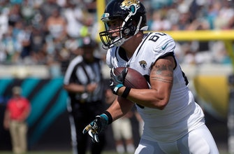 Jaguars re-sign tight end James O'Shaughnessy for depth