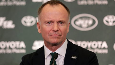 "<p>               FILE - In this Jan. 14, 2019 file photo New York Jets owner Christopher Johnson participates in a news conference in Florham Park, N.J. Picture this: New York Jets owner Christopher Johnson parading around next winter with a certain Super Bowl bauble on his head. Sure, Johnson was dreaming about something his franchise hasn't achieved since 1969: an NFL championship. But in March, optimism flows through everyone in  pro football. ""If we win the Lombardi Trophy,"" Johnson said Sunday, March 24, 2019 before the league meetings begin, ""I will wear it like a crown until people are sick of me. Can you take that off his head?"" (AP Photo/Seth Wenig)             </p>"