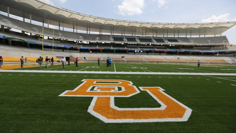 "<p>               FILE - In this Aug. 18, 2014, file photo, the Baylor University logo is displayed on the football field at McLane Stadium in Waco, Texas. A federal judge has ordered a law firm to turn over thousands of records that lawyers say should give a fuller accounting of how Baylor University responded to sexual assault allegations made by students. Judge Robert Pitman ruled Thursday, March 28, 2019, that Philadelphia-based Pepper Hamilton must produce all materials related to its internal review that resulted in a 2016 summary report finding ""institutional failure at every level."" (AP Photo/Waco Tribune-Herald via AP, File)             </p>"