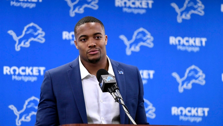 Lions introduce newly signed Flowers, Coleman and James