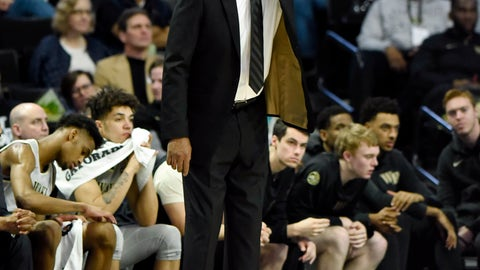 <p>               Wake Forest head coach Danny Manning directs his team during the second half of an NCAA college basketball game against Florida State on Saturday, March 9, 2019 in Winston-Salem, N.C. Florida State beat Wake Forest 65 to 57. (AP Photo/Woody Marshall)             </p>