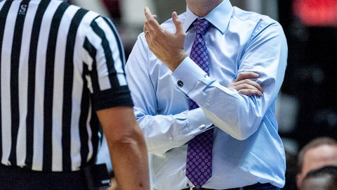 <p>               LSU head coach Will Wade argues a call against Alabama during the first half of an NCAA college basketball game, Saturday, March 2, 2019, in Tuscaloosa, Ala. (AP Photo/Vasha Hunt)             </p>