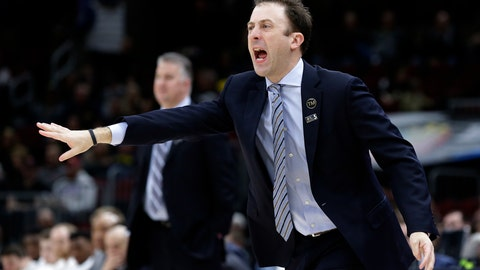 <p>               Minnesota head coach Richard Pitino directs his team during the first half of an NCAA college basketball game against Purdue in the quarterfinals of the Big Ten Conference tournament, Friday, March 15, 2019, in Chicago. (AP Photo/Kiichiro Sato)             </p>