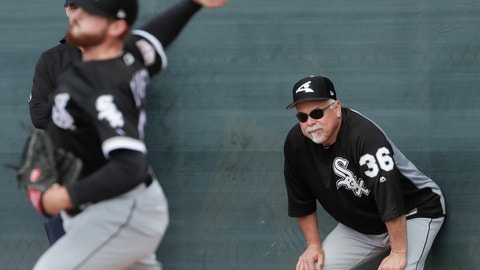 <p>               FILE - In this Feb. 16, 2019, file photo, Chicago White Sox manager Rick Renteria watches during a spring training baseball workout in Glendale, Ariz. The White Sox enter the season still believing they are setting themselves up for bigger things, despite missing out on the two prized free agents. (AP Photo/Morry Gash, File)             </p>